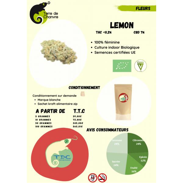 Fleurs CBD Lemon