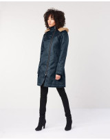 PARKA VEGAN LONG HOODLAMB