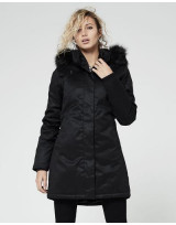 PARKA VEGAN NORDIC HOODLAMB NIGHTWATCH