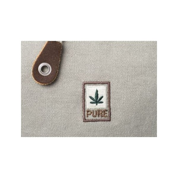 HEMP CANVAS BANDOULIERE BAG AND ORGANIC COTTON