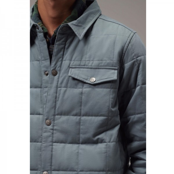 MENS QUILTED JACKET SHIRT
