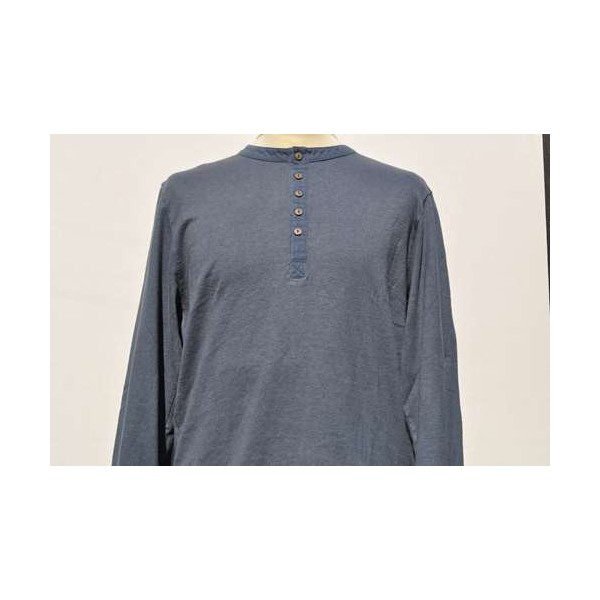 SWEAT SHIRT MANCHES LONGUES COL TUNISIEN